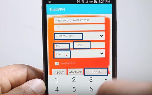 تطبيق للحصول على انترنت مجانا 3G او 4G لهواتف الاندرويد