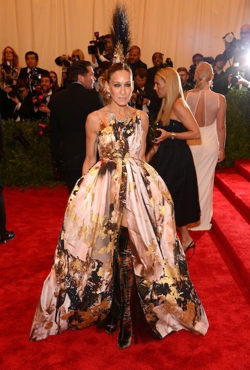 Sarah Jessica Parker at MET Gala 2013