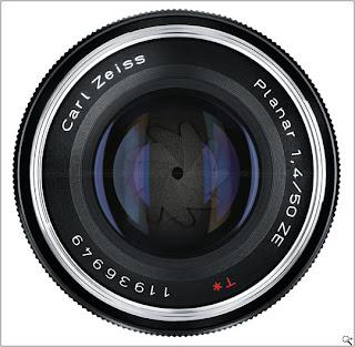 Lensa Carl Zeiss Planar