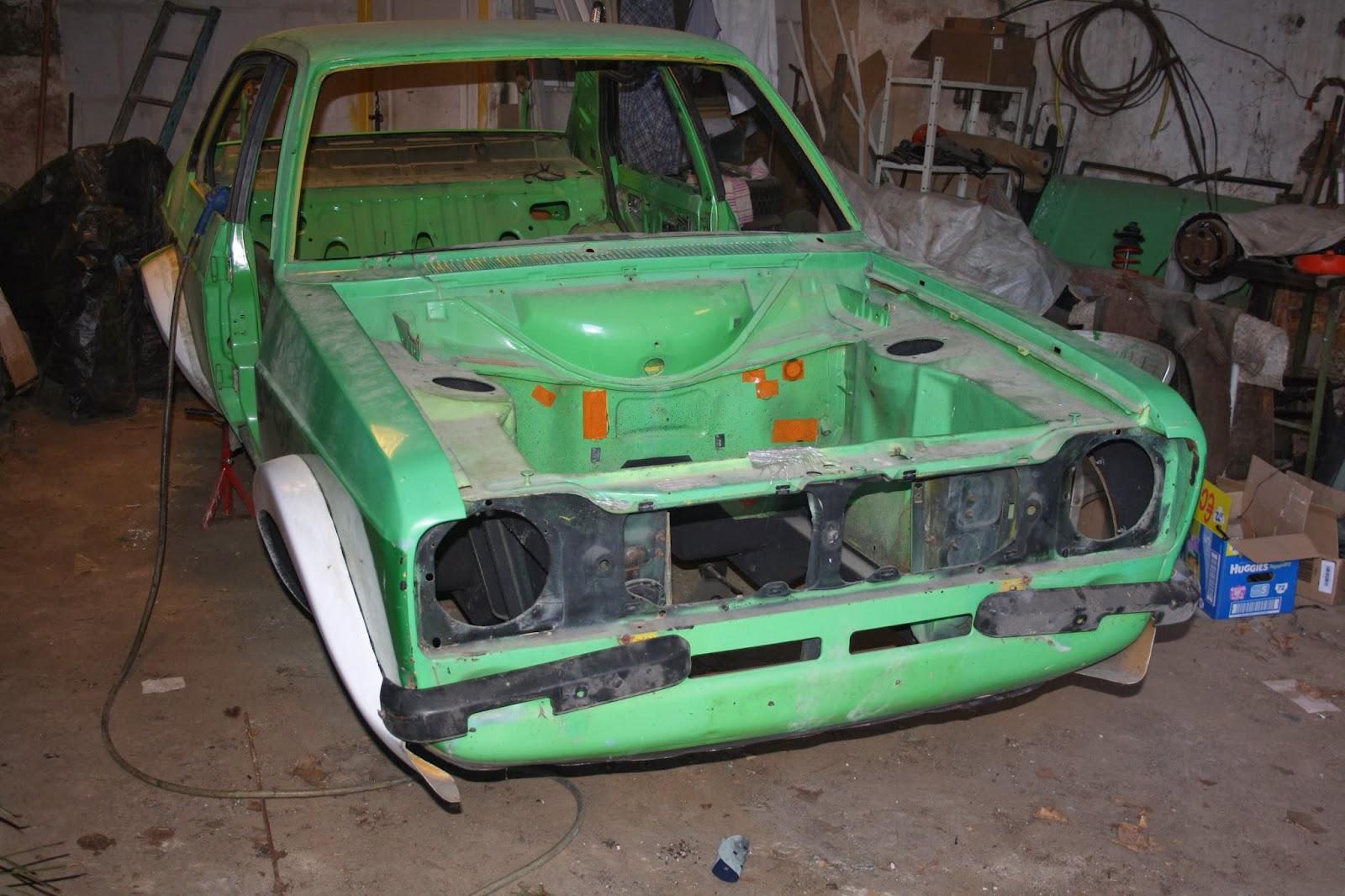 Restauration De Ma Ford Escort Mk2