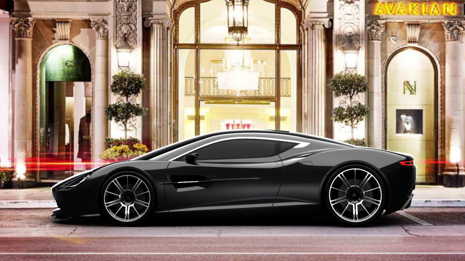Tag For Aston Martin Dbc Concept Wallpapers - Nano Trunk