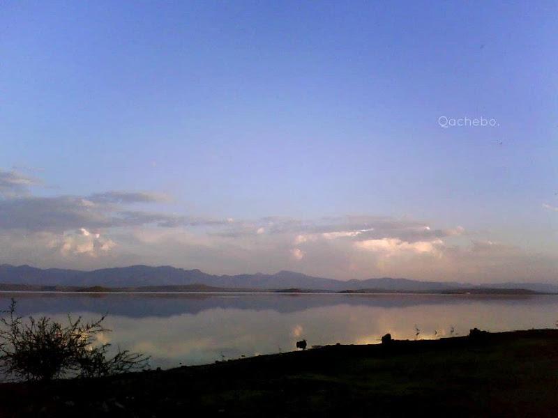 Atardecer en la laguna de Cuitzeo