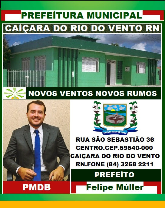 PREFEITURA DE CAIÇARA DO RIO DO VENTO RN