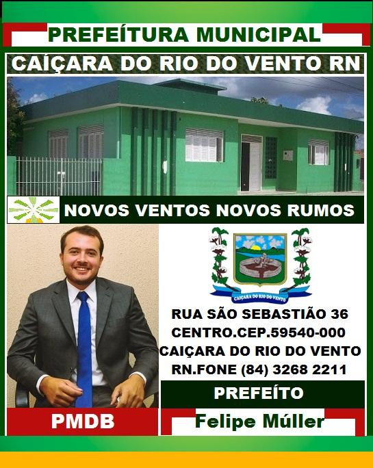 PREFEITURA DE CAIÇARA DO RIO DO VENTO RN