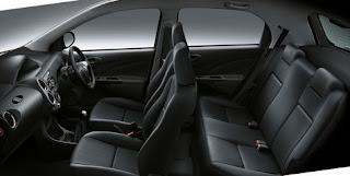bagian interior mobil toyota etios
