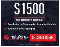 InstaForex Promo No Deposit