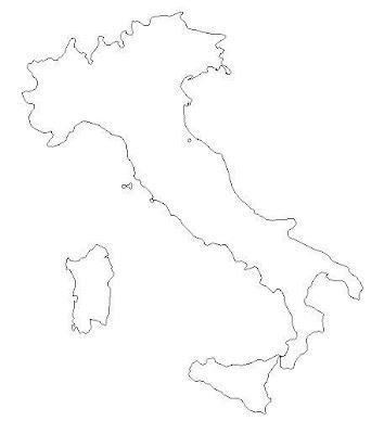 Mappa Cartina del cieco