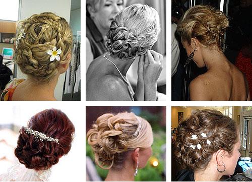 banana peel hairstyle : Ballroom Hairstyles