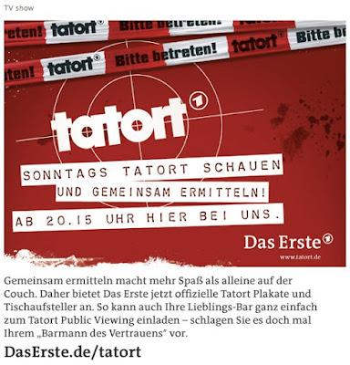 Screenshot der Tatort Fanpage