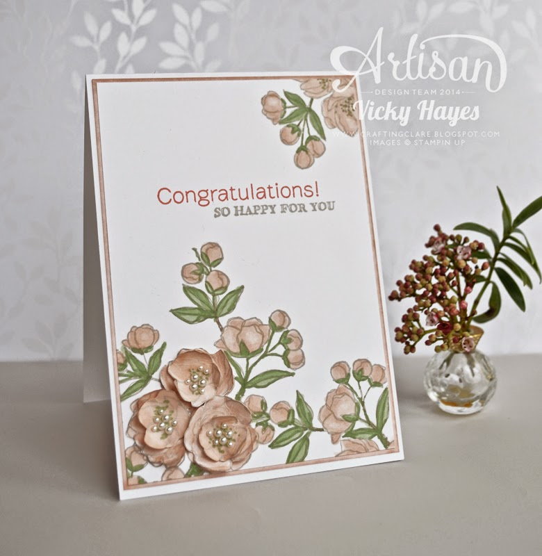 celebrate a wedding with Indescribable Gift from Stampin' Up