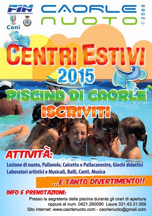 CENTRI ESTIVI 2015