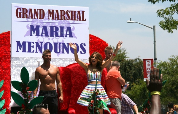 LA Pride Parade Grand Marshal Maria Menounos
