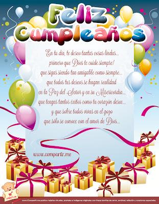 Frases Para Cumpleaños: Feliz Cumpleaños En Tu Día Te Deseo Tantas Cosas Lindas