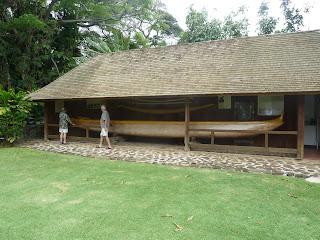 Koa wood Canoe
