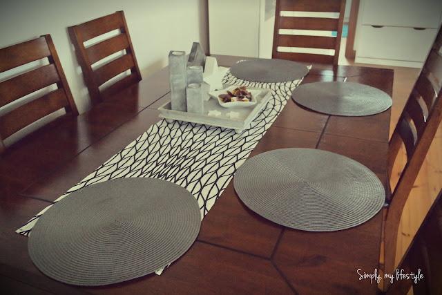 bieżnik ozdoba stołu