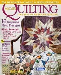 Quilting magazine