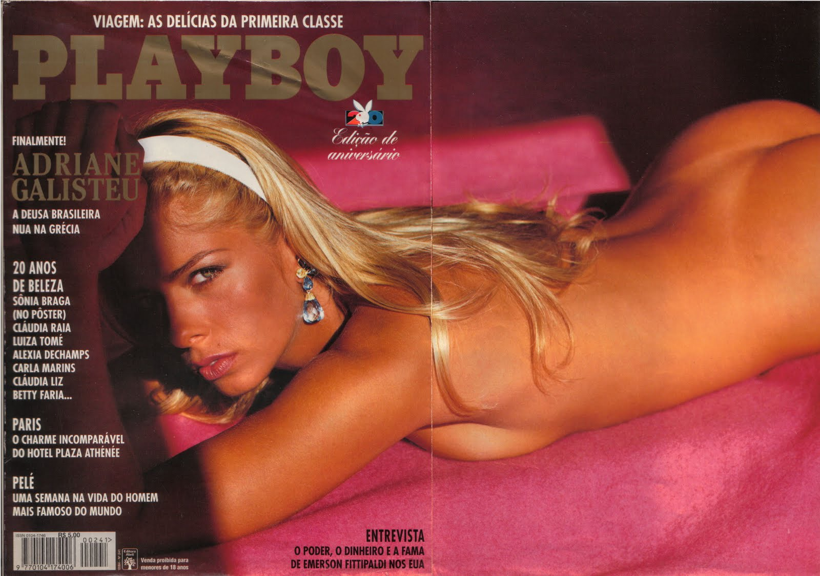 Fotos Da Adriane Galisteu Revista Playboy Anivers Rio