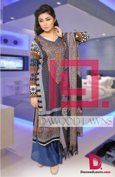 Dawood Winter Brasso Shawl 2014-2015