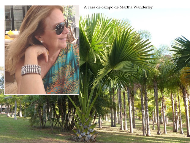 A casa de campo de Martha Wanderley