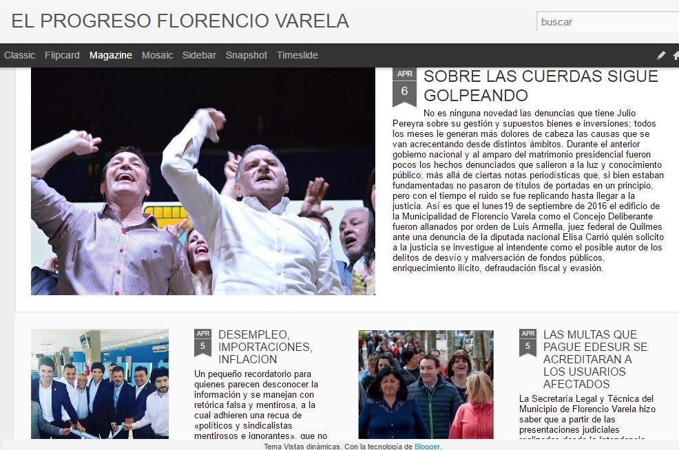 Periódico EL PROGRESO