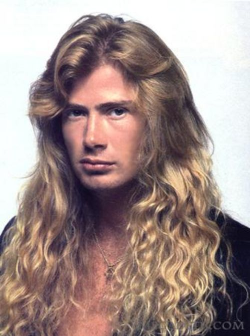 Young Dave Mustaine Dave Mustaine HairStyl...
