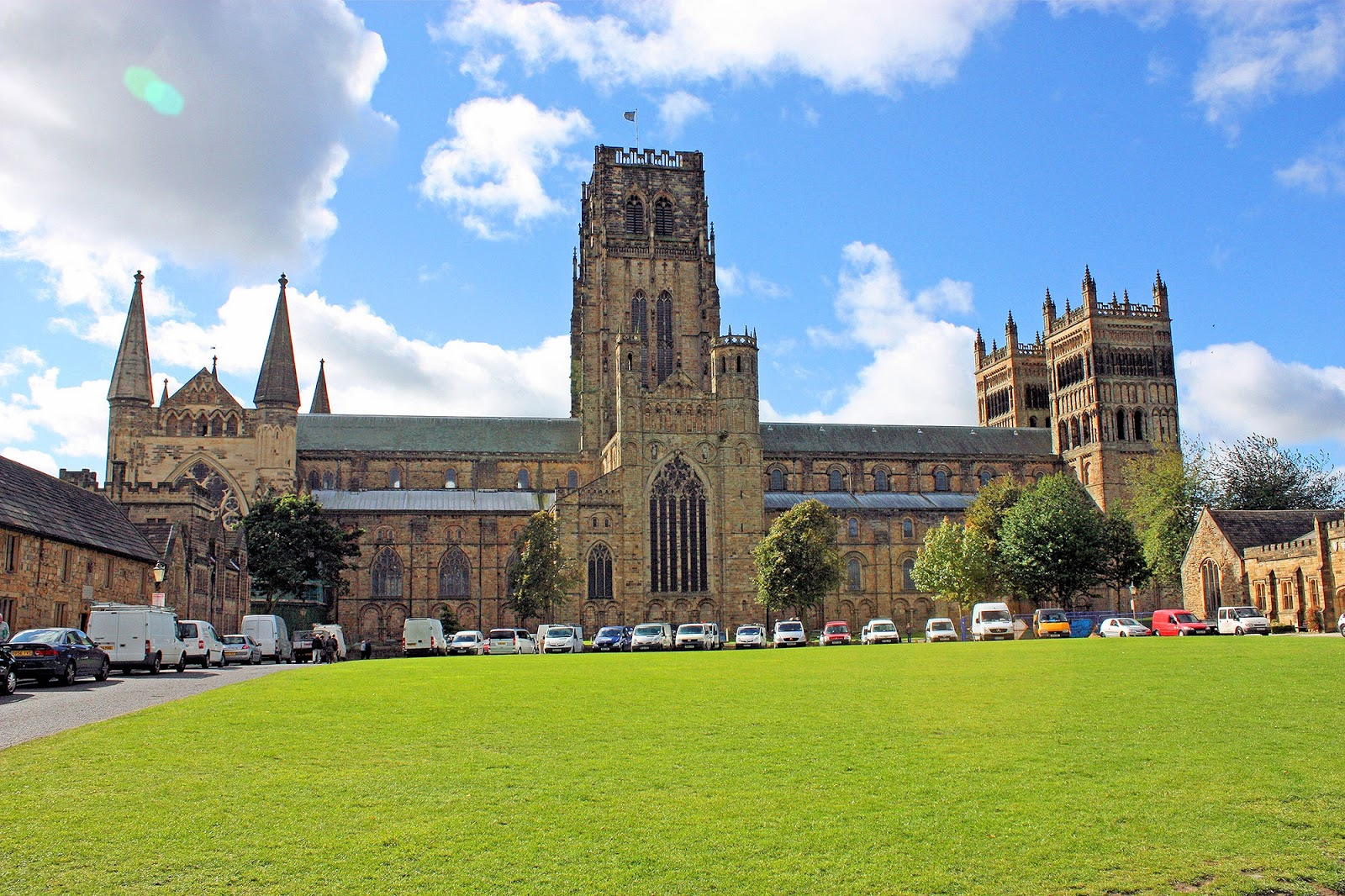a description of the durham cathedral located in durham county england Durham ( , locally ) is a historic city and the county town of county durham in north east england  the city lies on the river wear , to the west of sunderland , south of newcastle upon tyne and to the north of darlington.