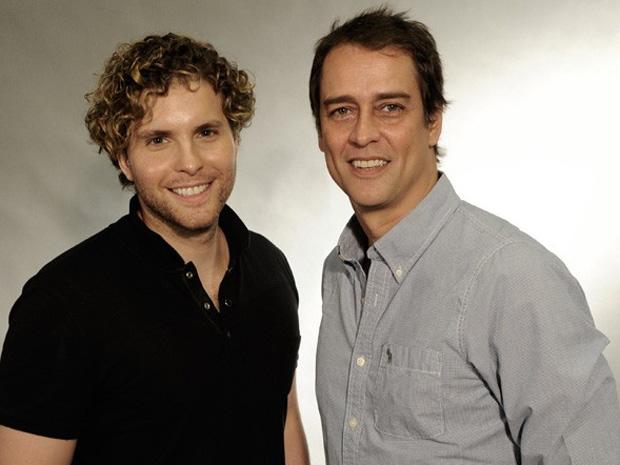 Thiago Fragoso e Marcello Anthony vão viver um casal gay na trama (Foto: Divulgação / TV Globo)