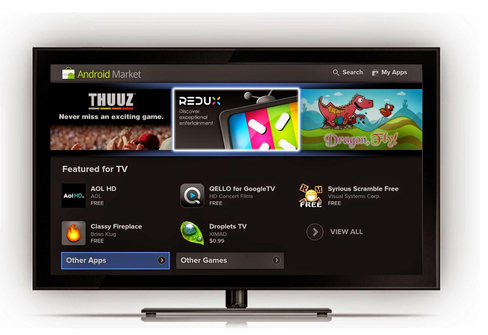 اول تلفزيون بنظام اندرويدAndroid TV