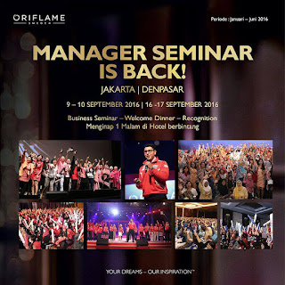 Manager Seminar is BACK | Oriflame Indonesia