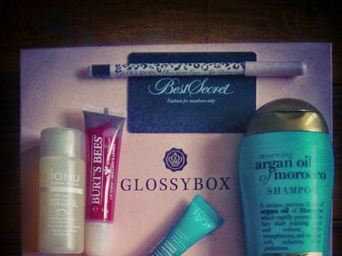 Beauty: Glossybox UK November 2014 review