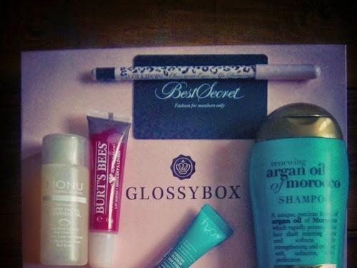 Beauty: Glossybox UK November 2014 review