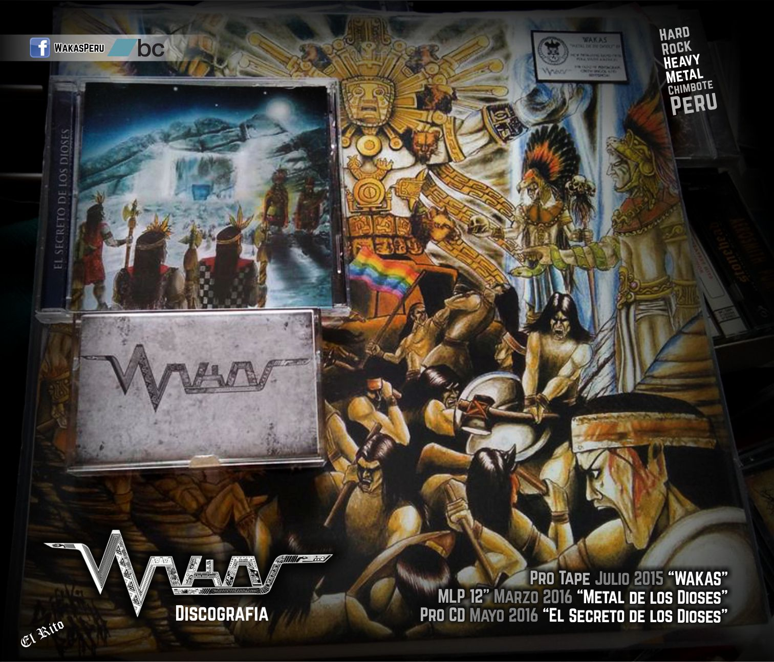 """""""WAKAS"""" es Heavy Doom Metal de Chimbote-Perú"""