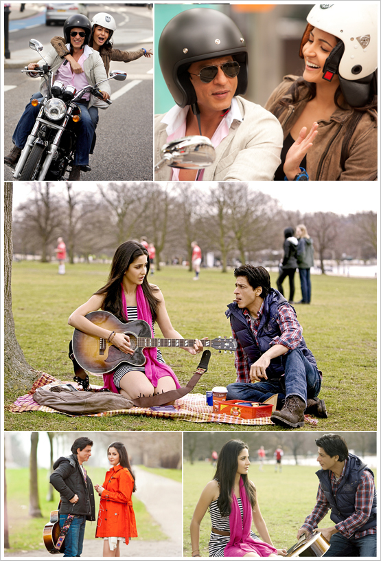 Anushkha Sharma, Katrina Kaif, Shahrukh Khan on the sets of Yash Raj Films Untitiled Project in London Shooting Pics