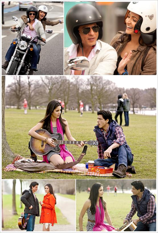 Anushkha Sharma, Katrina Kaif, Shahrukh Khan on the sets of Yash Raj Films Untitiled Project in London Shooting Pics