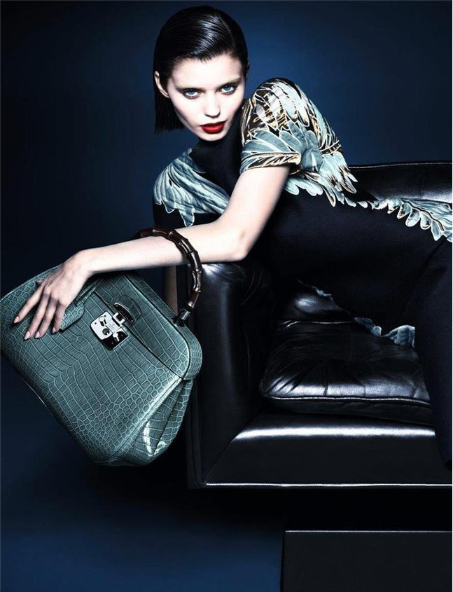 Gucci Fall 2013/2014 Women's Campaign Bamboo Handbag