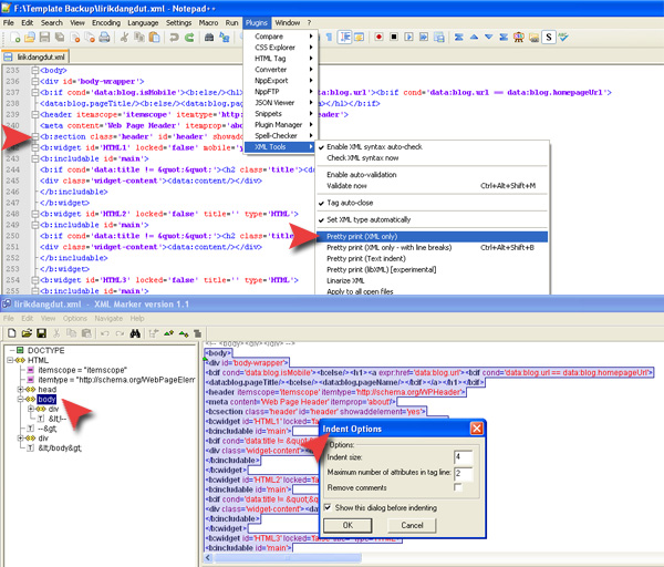 Online Blogspot Template Editor Terbaru