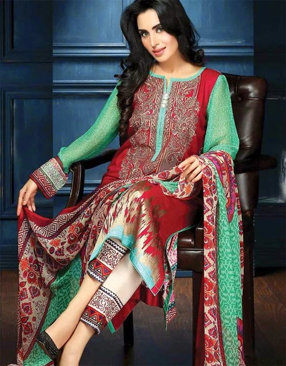 Feminine By Shariq 2015-16 Collection Embroidered Summer Lawn ...