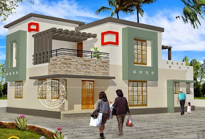 Contoh Gambar Desain Rumah Minimalis 2 Lantai Terbaru