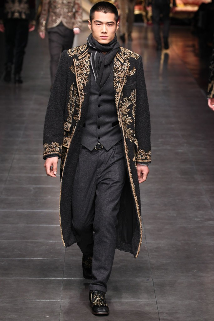 Dolce & Gabbana Men's RTW Fall 2012