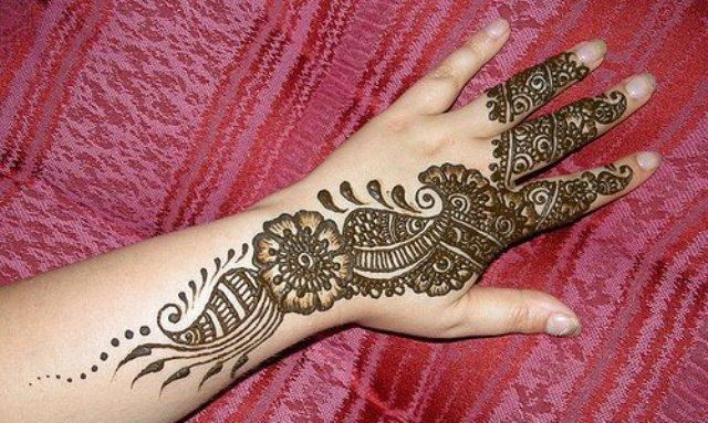 Mehndi Eid Designs 2012 : Photo shoot beautiful pakistani eid hand mehndi designs