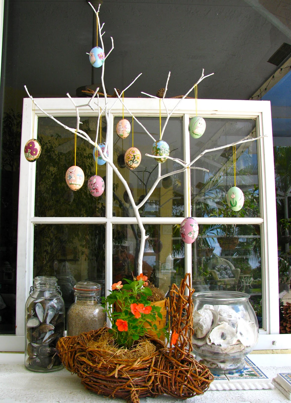 May days diy easter egg tree How to make an easter egg tree