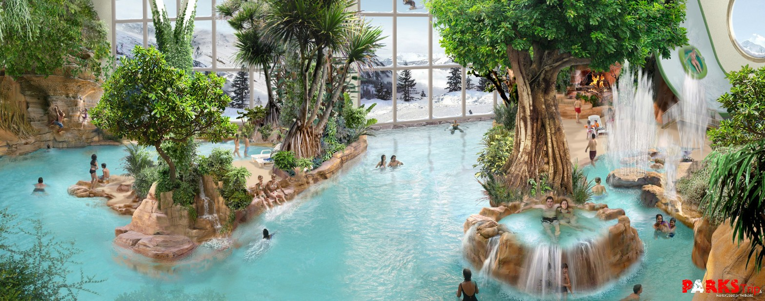 Parks trip promo vacances de p ques en famille center for Piscine center parc normandie