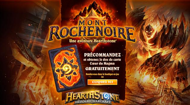 Mont Rochenoire : une aventure Hearthstone
