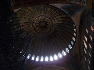 Dome of Hagia Sophia museum