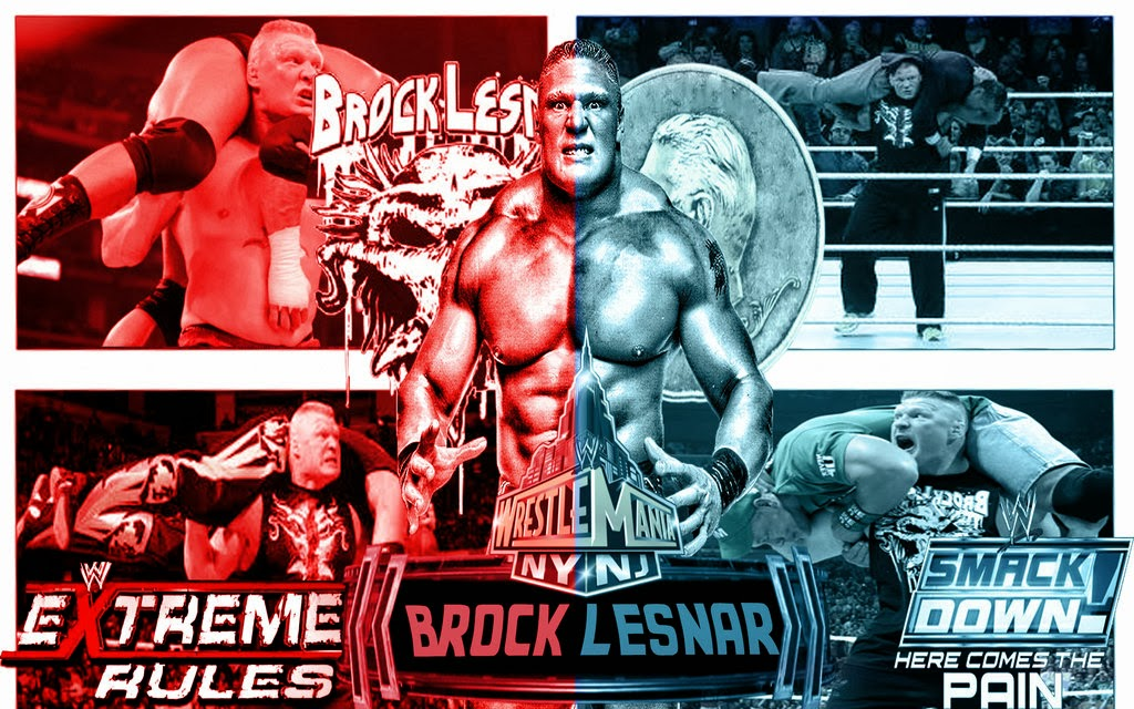 Is Also Very Well Know As UFC Champion It Means Hes Popular Star In Both Games This Post Download Wwe Wrestling And Ufc Wallpapers Of Brock Lesnar