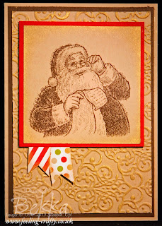 Santa's List Christmas Card - get everything you need to make this card here.