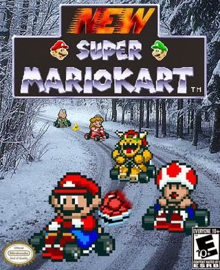 Download   New Super Mario Kart (PC)