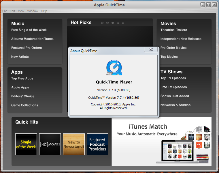 Showing quicktime movie on a website