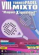 """VIII TORNEO DE PADEL MIXTO """"MOGUER X IGUALDAD"""""""