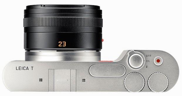 Fotografia della calotta superiore della Leica T